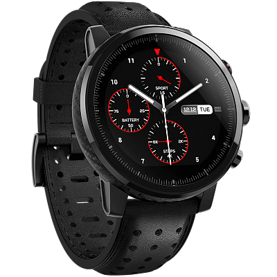 Xiaomi Huami Amazfit Stratos (Smart Sports Watch 2S Premium) (Black)